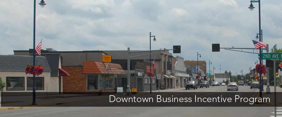 Downtown Incentive Program Header